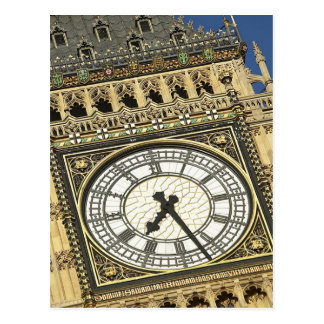 Big Ben Clockface Post Cards