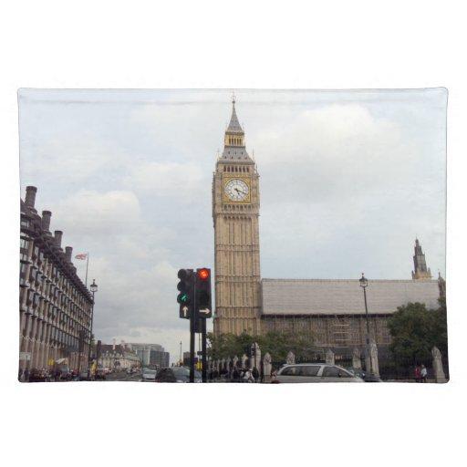 Big Ben Cloth Place Mat