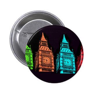 Big Ben Collage Pinback Button
