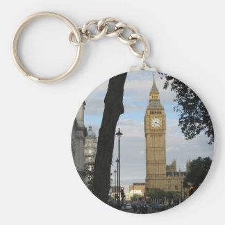Big Ben con el llavero de los árboles