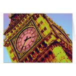 Big Ben en color Felicitaciones