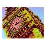 Big Ben en color Postales