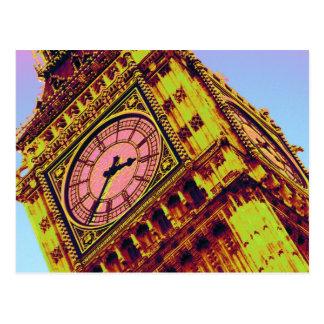 Big Ben en color Tarjetas Postales