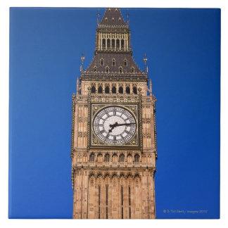 Big Ben en el capital británico Azulejo Cuadrado Grande