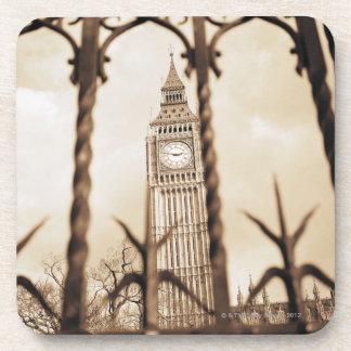 Big Ben en el parlamento, Londres Posavasos