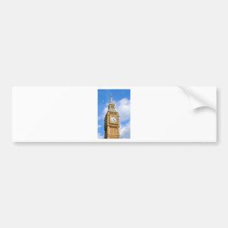 Big Ben en Londres, Reino Unido Pegatina Para Auto