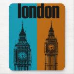 Big Ben en Londres, Ver. 2 Alfombrilla De Ratón