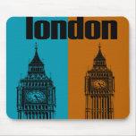 Big Ben en Londres, Ver. 2 Alfombrillas De Ratón
