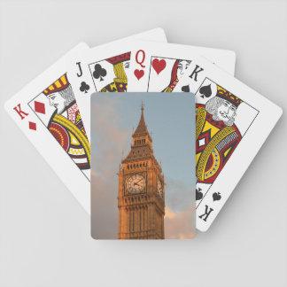 Big Ben en los naipes de Londres