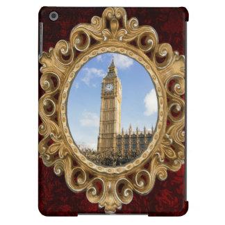 Big Ben en un día soleado, Londres Reino Unido Funda Para iPad Air