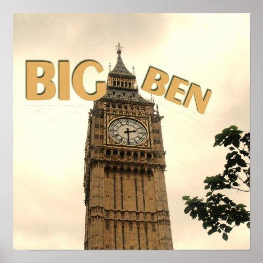 Big Ben England print