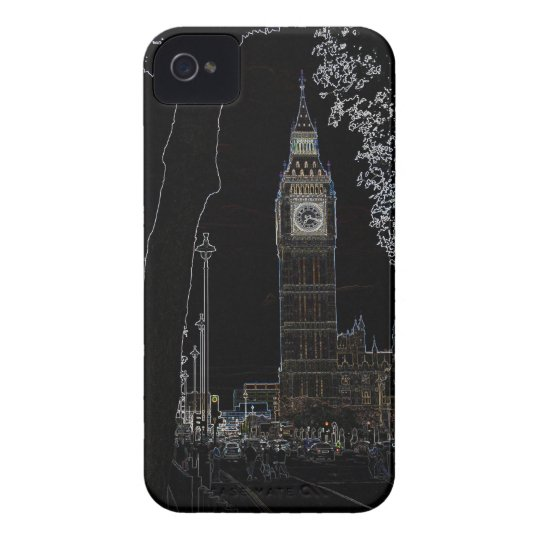 Big Ben Glows iphone 4 case