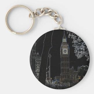 Big Ben Glows Keychain
