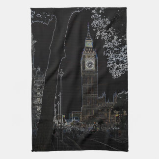 Big Ben Glows Towel
