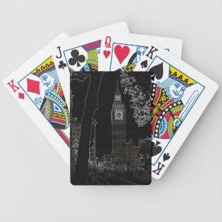 Big Ben Glows Playing Cards