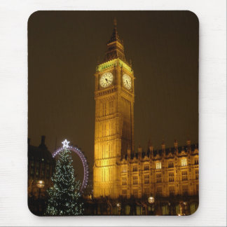 Big Ben hace tictac buenas noches Mouse Pads