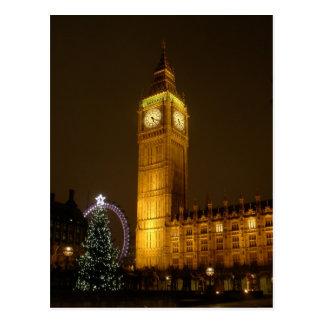 Big Ben hace tictac buenas noches Postales
