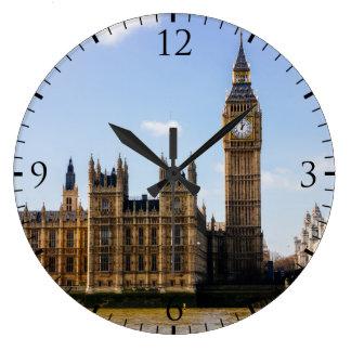 Big Ben, Houses of Parliament, London UK Large Clock