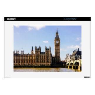 Big Ben, Houses of Parliament, London UK Laptop Decal