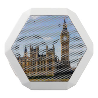 Big Ben, Houses of Parliament, London UK White Bluetooth Speaker