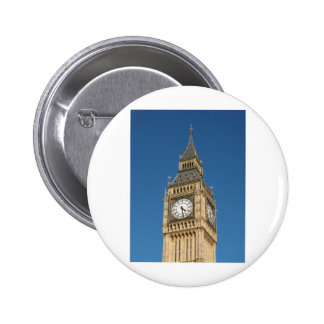 Big Ben Houses of Parliament Westminster London Pinback Button