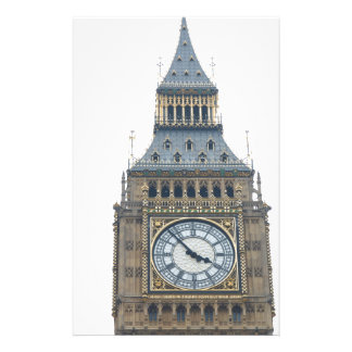 Big Ben Houses of Parliament Westminster London Personalized Stationery