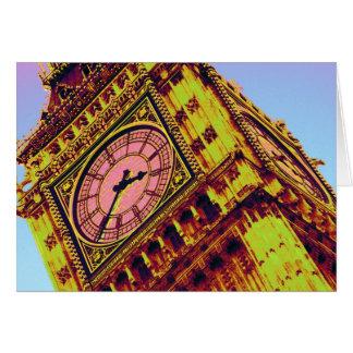 Big Ben in Colour Card