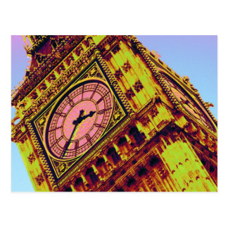 Big Ben in Colour Postcard
