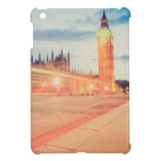 Big Ben in London at night Cover For The iPad Mini