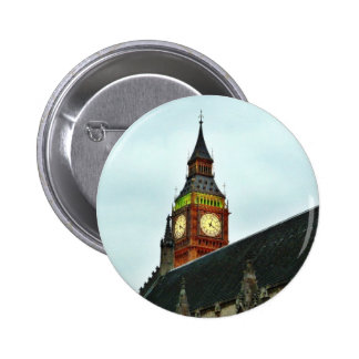 Big Ben In London Buttons