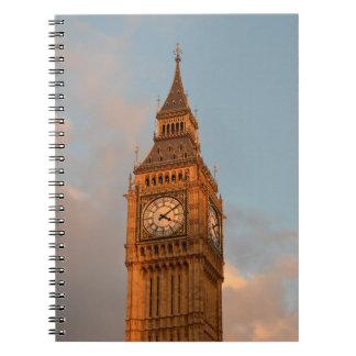 Big Ben in London notebook