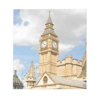 Big Ben in London Notepad