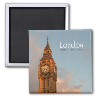 Big Ben in London photo text magnet