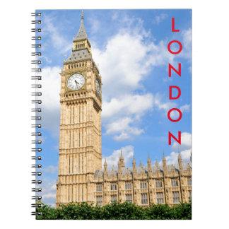 Big Ben in London, UK Notebook