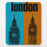 Big Ben in London, Ver. 2 Mouse Pad
