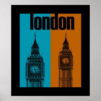 Big Ben in London, Ver. 2 Poster