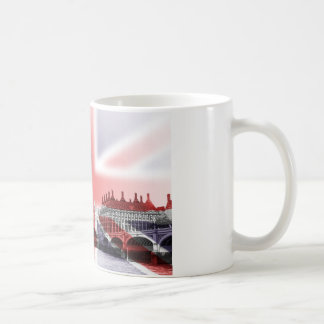 Big Ben London and Union Jack flag Coffee Mug