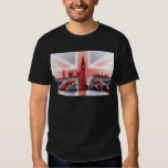 Big Ben London and Union Jack flag T-Shirt