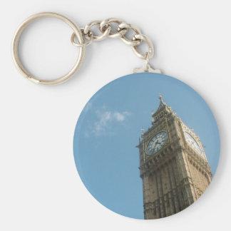 Big Ben - London Basic Round Button Keychain