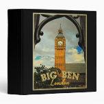 Big Ben London Binder