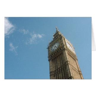 Big Ben - London Card