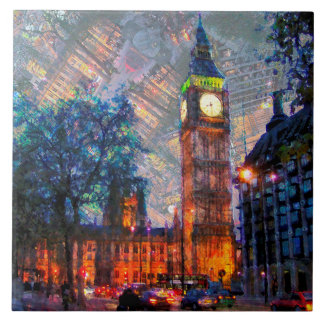 Big Ben London Ceramic Tile