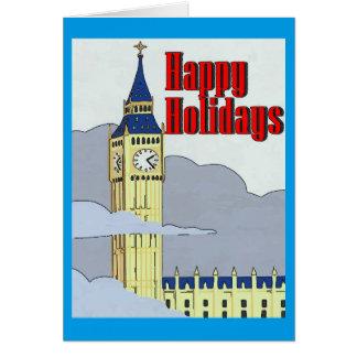 Big Ben London, Christmas Card