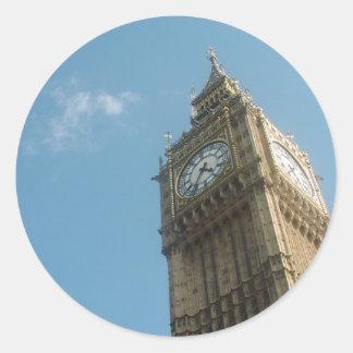 Big Ben - London Classic Round Sticker