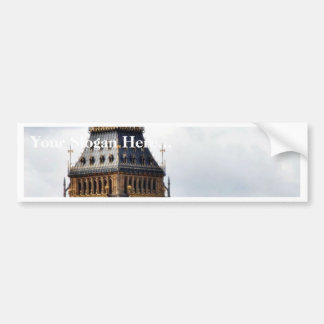Big Ben London Clock Towers And Westminster Abbey Car Bumper Sticker