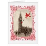 Big Ben London Cupid Valentine Card