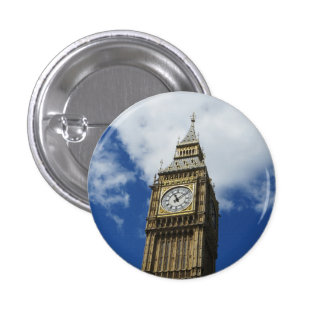 Big Ben, London, England Button