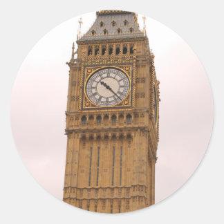 Big Ben London England Classic Round Sticker
