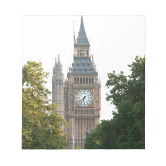 Big Ben London England Memo Note Pad