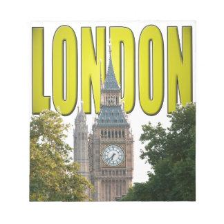 Big Ben London England Scratch Pads